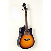 Washburn WA90CE Dreadnought Acoustic Electric Guitar