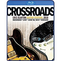 WEA Eric Clapton - 2010 Crossroads Guitar Festival DVD or Blu-Ray Video (17-WEA525668B)