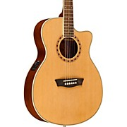 Washburn WF19CE Mahogany Folk Acoustic-Electric Guitar