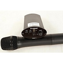 Phonic WM-1S Wireless Handheld System (Receiver + Handheld Mic)