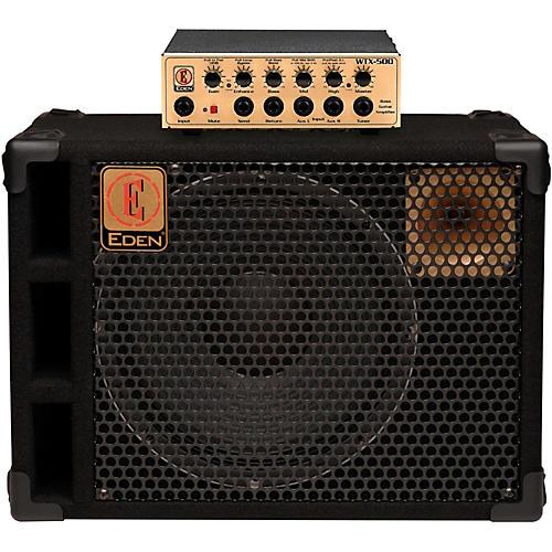 Eden WTX500 Bass HeadwithD112XST 1x12 Bass Speaker Cab-thumbnail