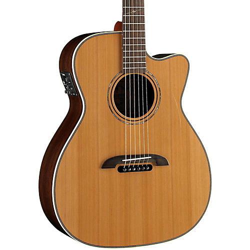 Alvarez WY1 Yairi Stage OM/Folk Acoustic-Electric Guitar-thumbnail