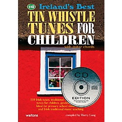 Waltons 110 Ireland's Best Tin Whistle Tunes for Children Book/CD (634204)