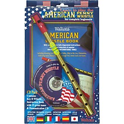 Waltons American Penny Whistle CD Pack (634092)