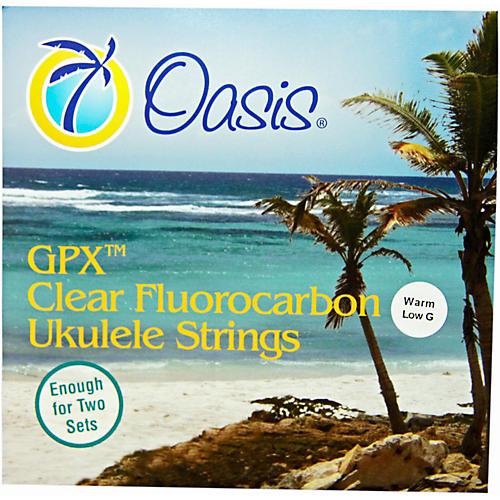Oasis Warm Low G Ukulele Strings-thumbnail