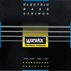 Warwick Black Label Stainless Medium Light 4-String Bass Strings (WWS40210)