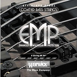 Warwick M6 EMP COATED 6-String Bass Strings Medium (38401)