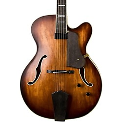 Washburn J600 Jazz Venetian Cutaway Electric Guitar (USM-J600K)