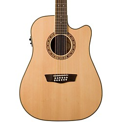 Washburn USM-WD10SCE12 Cutaway 12-String Acoustic-Electric Guitar (WD10SCE12)