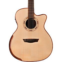 Washburn WCG25SCE Comfort Series Grand Auditorium Cutaway Acoustic-Electric Guitar (USM-WCG25SCE)
