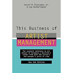 Watson-Guptill This Business of Artist Management - 4th Edition Book (331380)