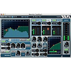 Wave Arts TrackPlug AAX Special Signal Processing Software - Pro Tools 11 Ready (12-41327)