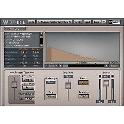 Waves IR1 Parametric Convolution Reverb Native License (USW379-1362-585)