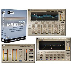Waves Masters Native Plug-In Bundle Hybrid Software CD Win/Mac (MANA)