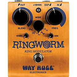 Way Huge Electronics Ring Worm Ring Modulator Guitar Effects Pedal (WHE606)