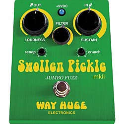 Way Huge Electronics WHE401 Swollen Pickle mkII Jumbo Fuzz Guitar Effects Pedal (WHE401)