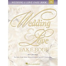 Hal Leonard Wedding & Love Fake Book 5th Edition