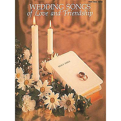 Hal Leonard Wedding Songs of Love and Friendship Piano, Vocal, Guitar Songbook-thumbnail