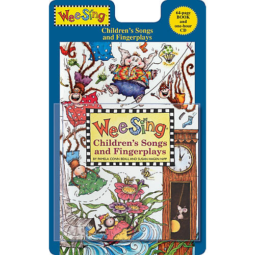 Penguin Books Wee Sing Children's Songs and Fingerplays Book & CD-thumbnail