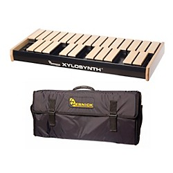 Wernick MkVI Blonde Birch Xylosynth w/Button Control, LED Display and Soft Bag (XS6-2BB-BC-LED-WBAG-KIT)