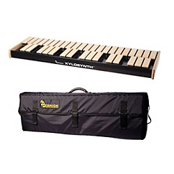 Wernick MkVI Blonde Birch Xylosynth w/Button Control and Soft Bag (XS6-3BB-BC-WBAG-KIT)