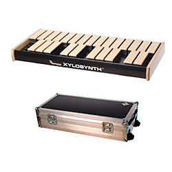 Wernick MkVI Blonde Birch Xylosynth w/Flight Case and Accessories (XS6-2BB-WCASE-KIT)