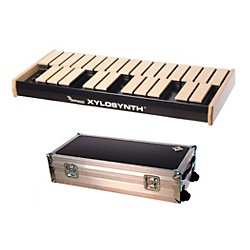 Wernick MkVI Blonde Birch Xylosynth w/LED Display, Flight Case and Accessories (XS6-2BB-LED-WCASE-KIT)