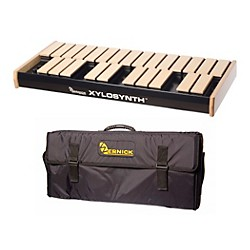 Wernick MkVI Blonde Birch Xylosynth w/LED Display and Soft Bag (XS6-2BB-LED-WBAG-KIT)