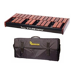 Wernick MkVI Bubinga Xylosynth w/Button Control, Internal Sounds and Soft Bag (XS6-2BU-BC-IS-WBAG-KIT)