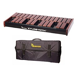 Wernick MkVI Stained Birch Xylosynth w/Button Control and Soft Bag (XS6-2SB-BC-WBAG-KIT)