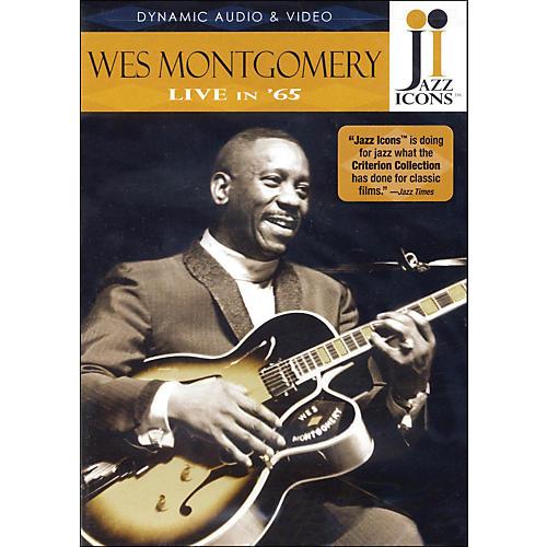 Hal Leonard Wes Montgomery - Live In '65 DVD Jazz Icons DVD