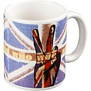 ROCK OFF Who Peace Fingers Mug