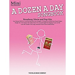 Willis Music A Dozen A Day Songbook - Mini Early Elementary Level Book (416858)