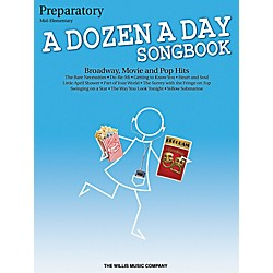 Willis Music A Dozen A Day Songbook - Preparatory Book Mid-Elementary Level for Piano (416859)