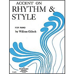 Willis Music Accent On Rhythm And Style For Piano (415165)
