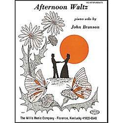 Willis Music Afternoon Waltz Later Elementary Piano Solo by John Branson (405472)