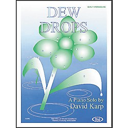 Willis Music Dew Drops Early Intermediate Piano Solo by David Karp (405852)