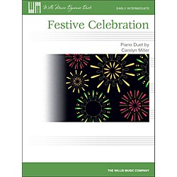 Willis Music Festive Celebration - Early Intermediate Duet Sheet (1 Piano, 4 Hands) (416843)