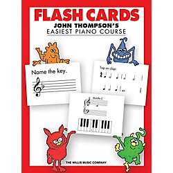 Willis Music Flash Cards - John Thompson's Easiest Piano Course (416900)