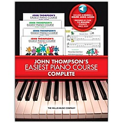 Willis Music John Thompson's Easiest Piano Course Complete boxed Set (Books 1 - 4 With CD's) (416812)