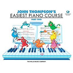Willis Music John Thompson's Easiest Piano Course Part 2 Book/CD (416457)