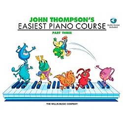 Willis Music John Thompson's Easiest Piano Course Part 3 Book/CD (416458)