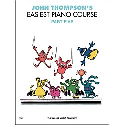 Willis Music John Thompson's Easiest Piano Course Part 5 (414121)
