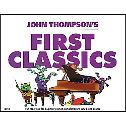 Willis Music John Thompson's First Classics Late Elementary Level For Piano (406347)