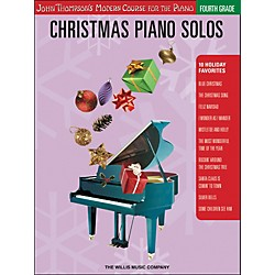 Willis Music John Thompson's Modern Course For Piano - Christmas Piano Solos Fourth Grade (416790)