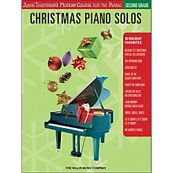 Willis Music John Thompson's Modern Course For Piano - Christmas Piano Solos Second Grade (416788)