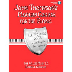 Willis Music John Thompson's Modern Course For Piano Grade 2 Book/CD (416798)