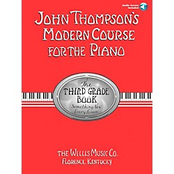 Willis Music John Thompson's Modern Course For Piano Grade 3 Book/CD (416799)