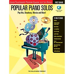 Willis Music John Thompson's Modern Course For The Piano - Popular Piano Solos First Grade Book/CD (416707)