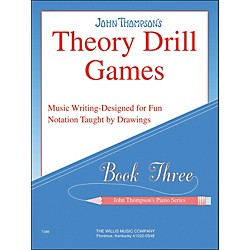 Willis Music John Thompson's Theory Drill Games Book 3 (414164)